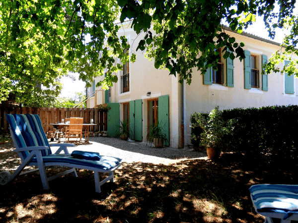 Gite Malaup bij vakantie accommodatie Les Glycines in de Haute Provence