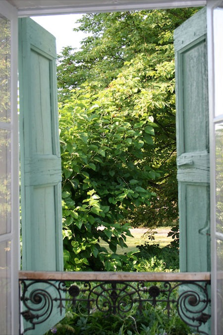 Uitzicht op tuin Chambre La Baume Les Glycines Provence