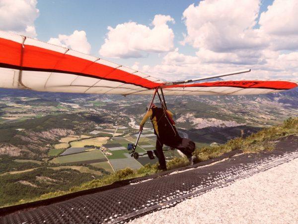 Deltavliegen Montagne de Chabre, tussen Laragne en Sisteron