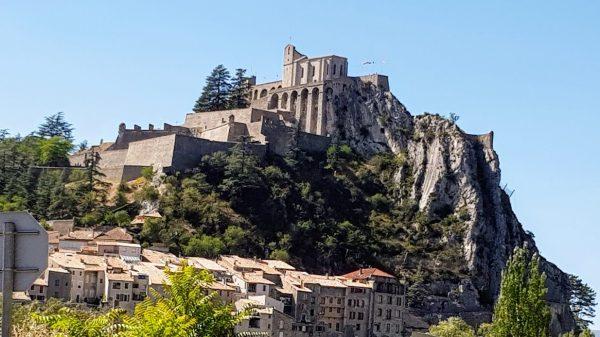 Citadel van Sisteron in de Haute Provence
