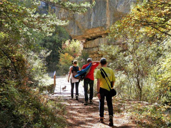 Provence en Alpen, wandeling bij Saint-Genis