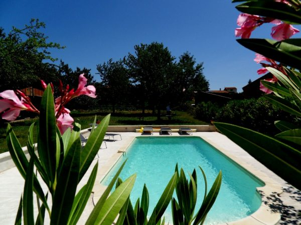 Swimming pool B&B Apartments Les Glycines Haute Provence